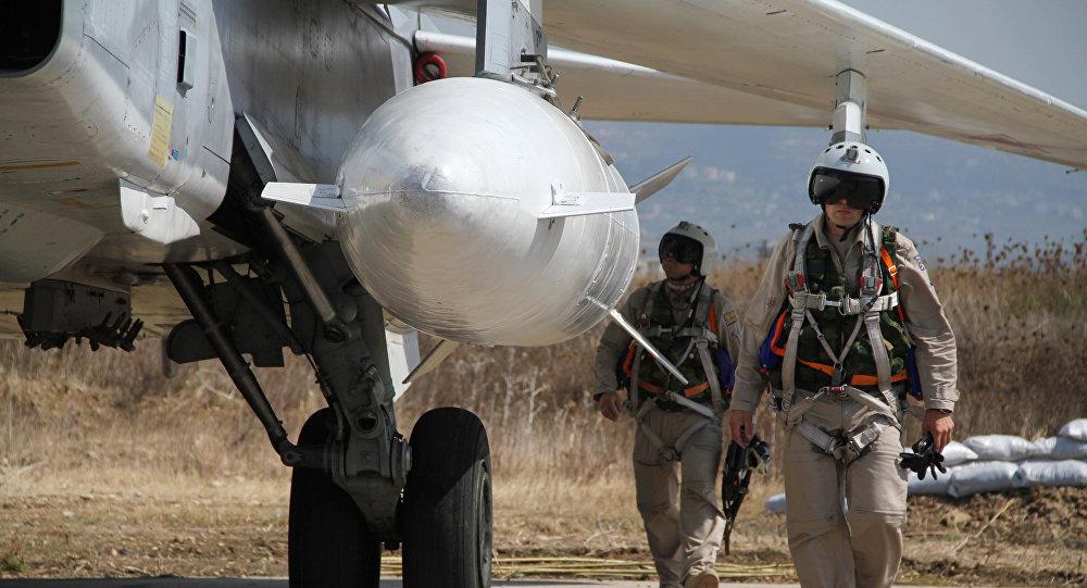 Pilotos rusos en Siria