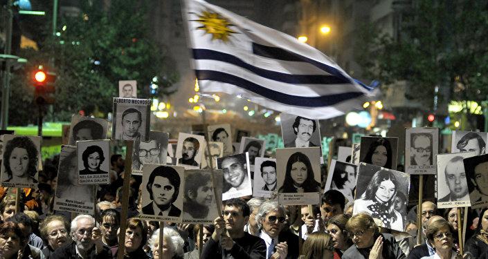 Marcha del Silencio, demostración en memoria de los desaparecidos uruguayos