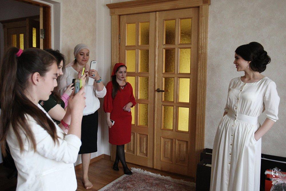 Las bodas tradicionales chechenas