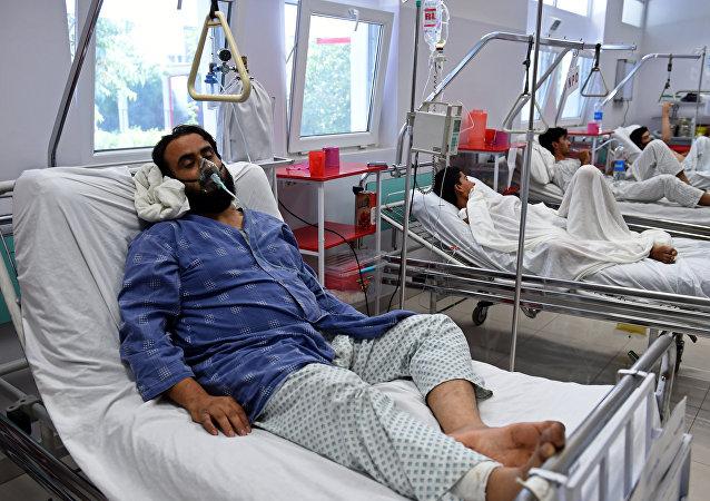 Un miembro de Médicos Sin Fronteras herido en ataque aéreo de EEUU contra hospital de Kunduz