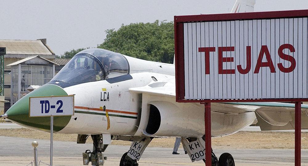 Avión de combate Tejas, India