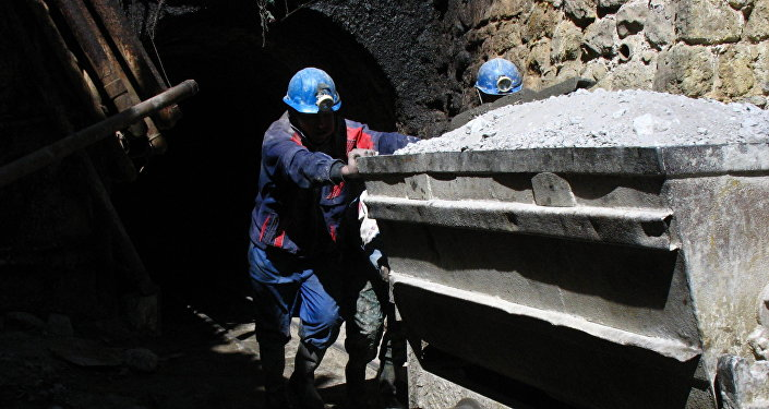 Mineros bolivianos (imagen referencial)