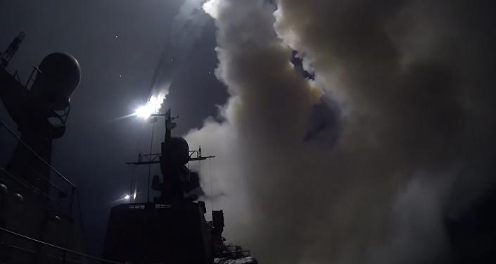 Buques rusos golpean objetivos del EI desde el mar Caspio