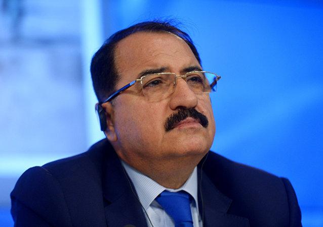 Riad Haddad, el embajador de Siria en Moscú