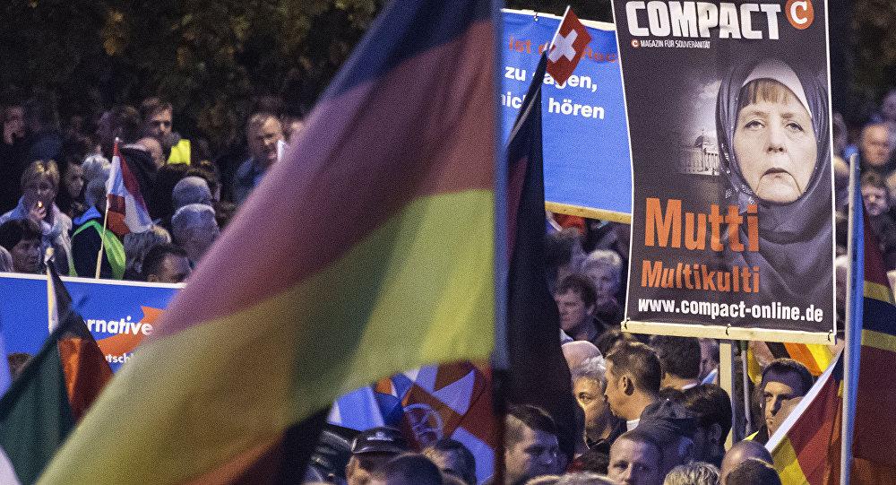 Protestas contra política migratoria alemana