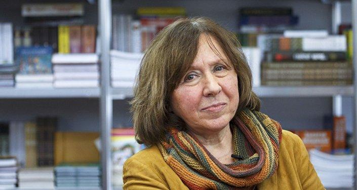 Svetlana Alexievich, laureada con el premio Nobel de Literatura 2015