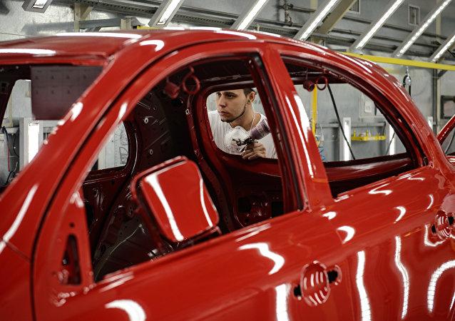 La producción de vehículos en Brasil