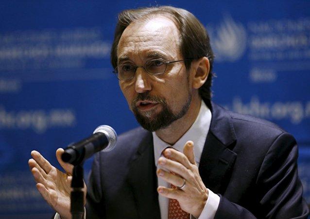 Zeid Ra'ad Al Hussein, Alto Comisionado de las Naciones Unidas para los DDHH