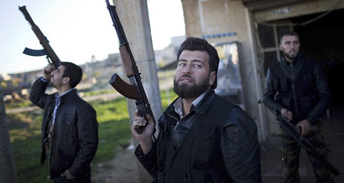Soldados del Ejército Libre sirio