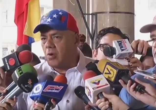Jorge Rodríguez: Exigimos se convoque a la derecha para que reconozcan resultados electorales