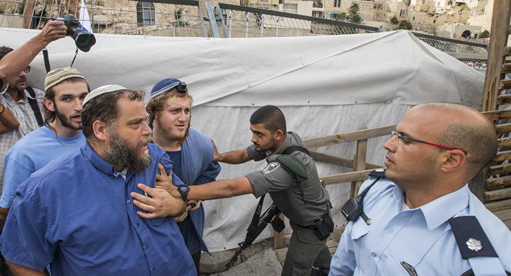 Bentzi Gopstein, líder del grupo israelí anti-árabe Lehava