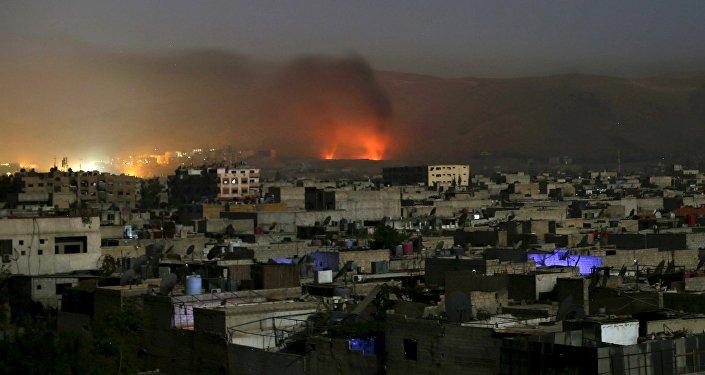 Ciudad de Duma en la provincia de Damasco, Siria (archivo)