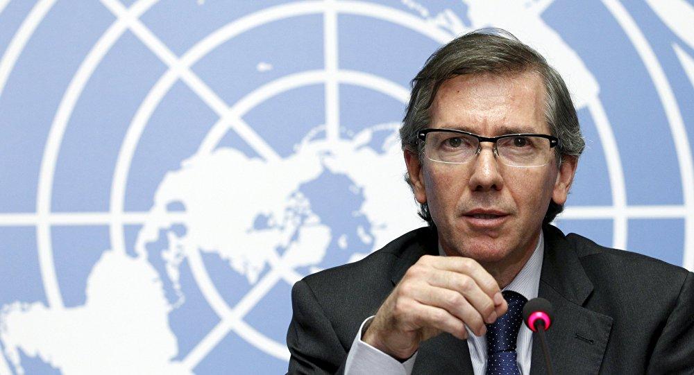 Bernardino León, enviado especial de la ONU para mediar en el conflicto libio