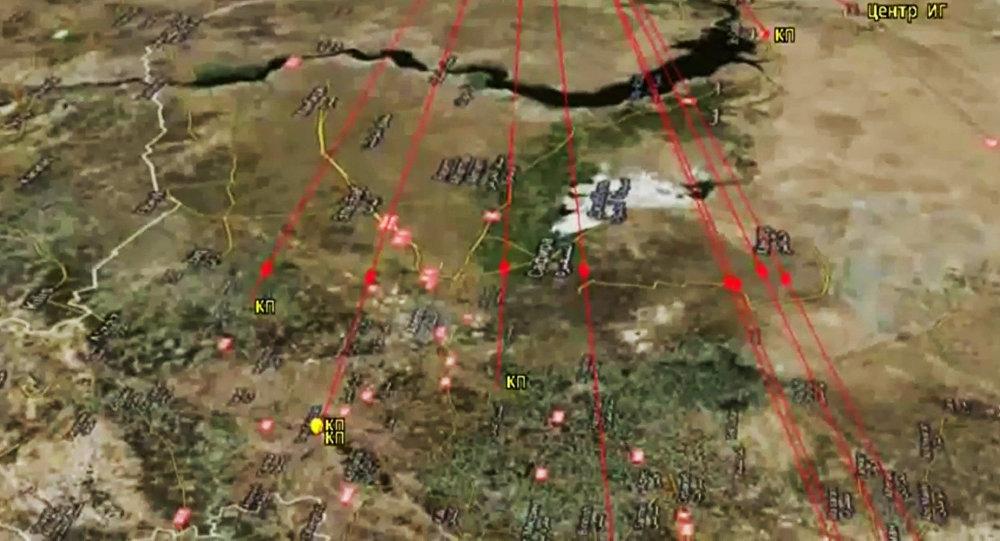 Buques de la Flotilla del Caspio han lanzado 26 misiles de crucero contra las instalaciones del EI en Siria