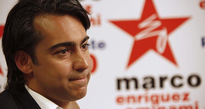 Marco Enríquez-Ominami, el diputado de Chile