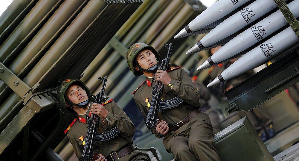 Corea del Norte celebró el 70 aniversario del Partido de los Trabajadores con un gran desfile militar