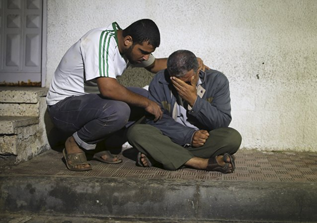 Víctimas palestinas