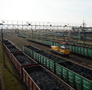 Suministros de carbón (imagen referencial)