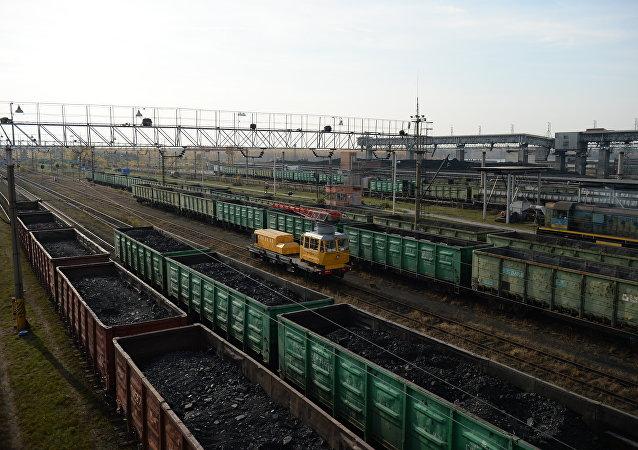 Suministros de carbón (Archivo)