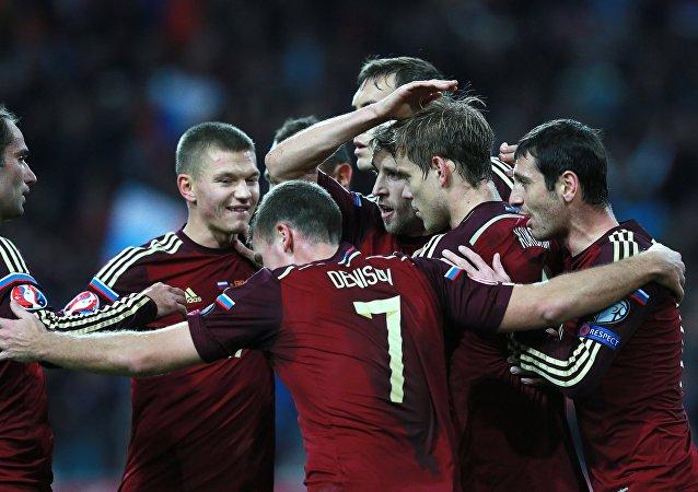 Equipo de fútbol ruso