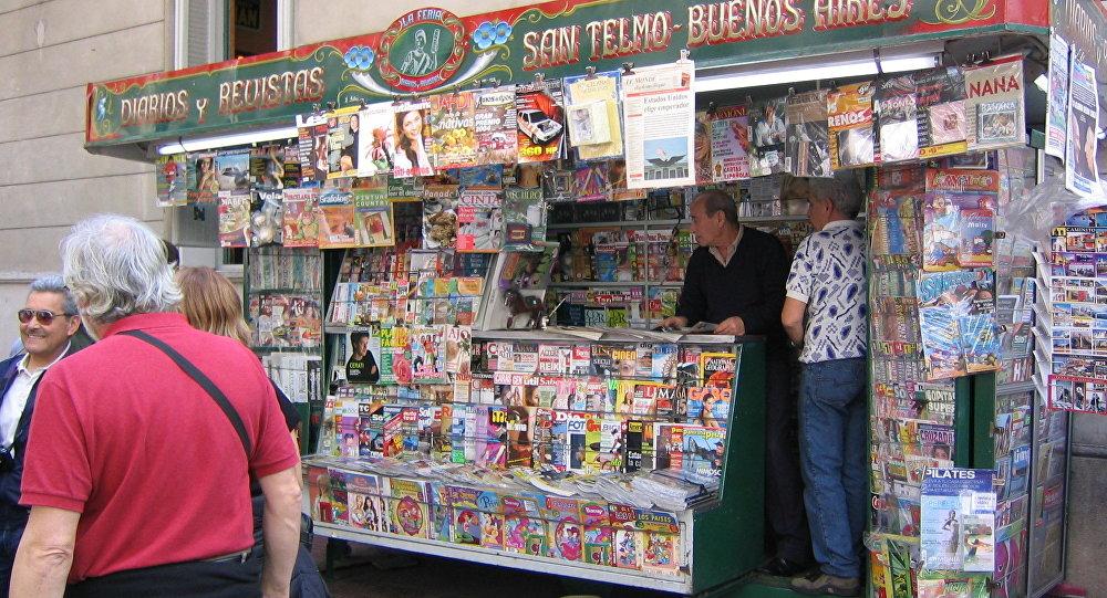 Quiosco en Buenos Aires