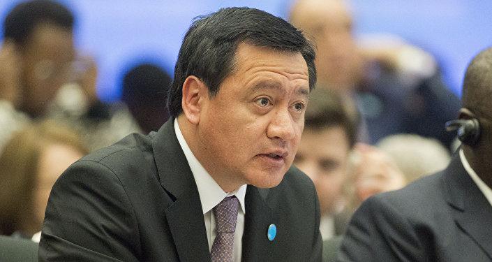 Miguel Ángel Osorio Chong, secretario de Gobernación de México