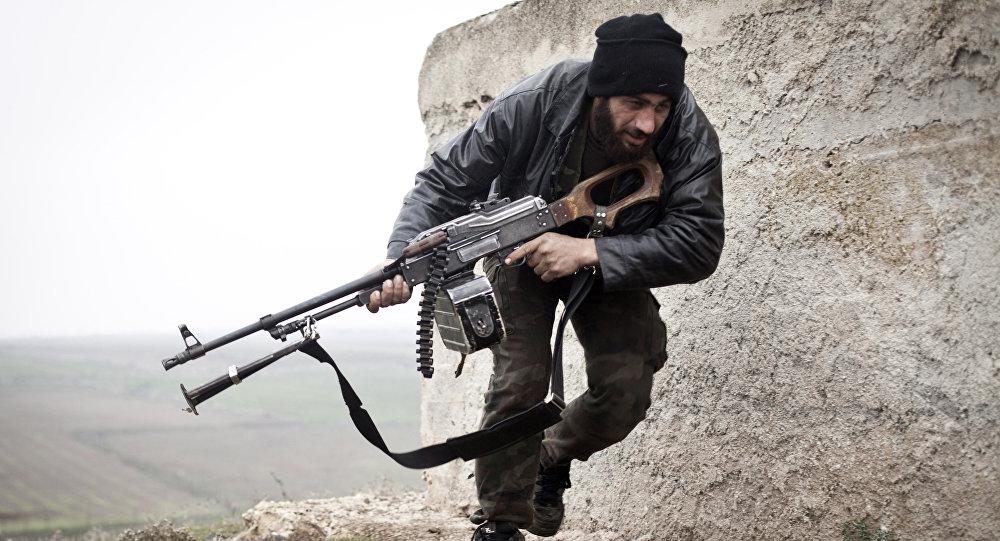 Un miliciano del Ejército Libre Sirio (archivo)