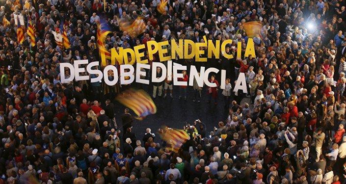 Protestas en Barcelona (archivo)