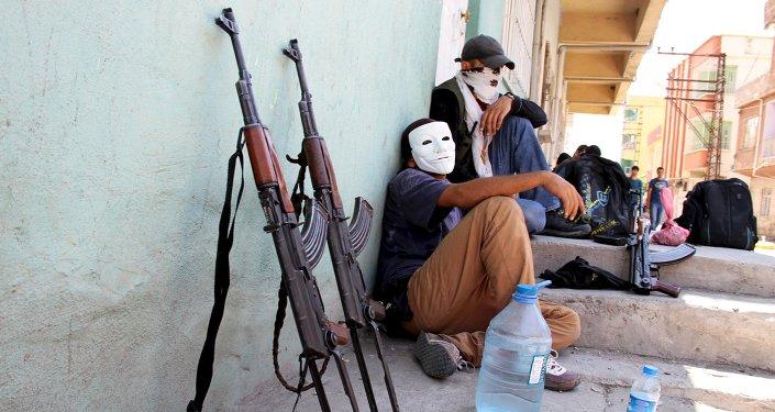 Miembros del PKK