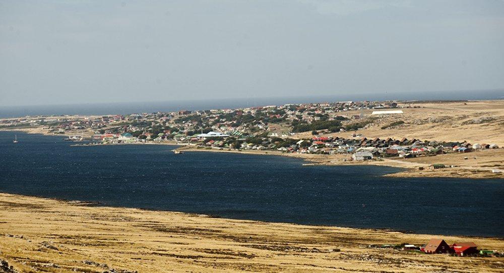 Port Stanley, las Islas Malvinas