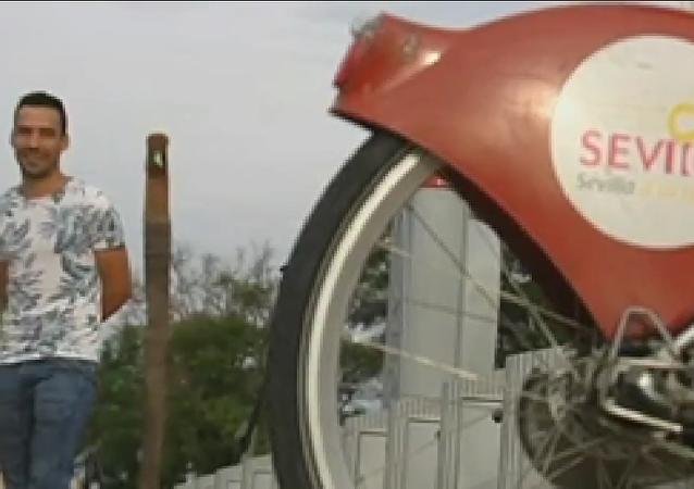 Un joven español entra en prisión por robar una bicicleta pública en 2008