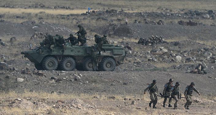 Ejercicios de la Organización del Tratado de Seguridad Colectiva en Armenia