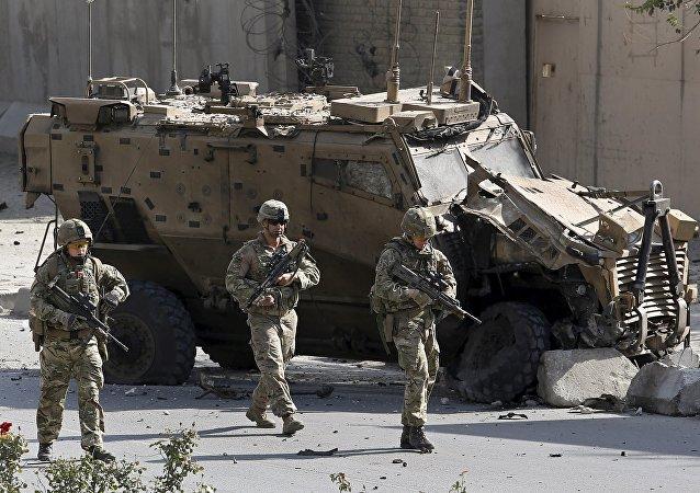 Militares de la OTAN en Afganistán