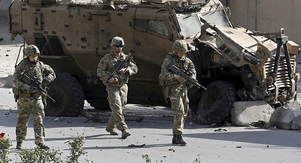 Militares de la OTAN en Kabul, Afganistán (archivo)