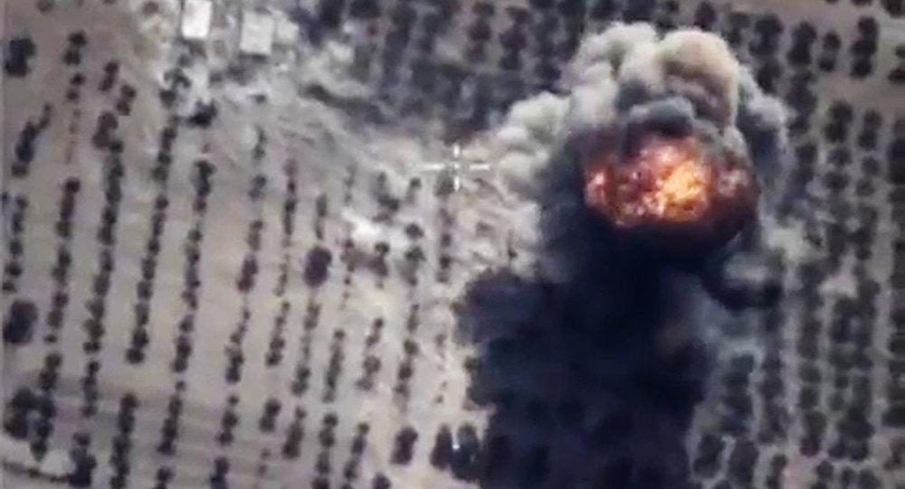 Bombardeos rusos contra las posiciones de terroristas (Archivo)