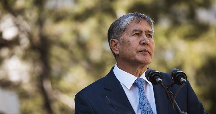 Almazbek Atambáev, el presidente de Kirguistán