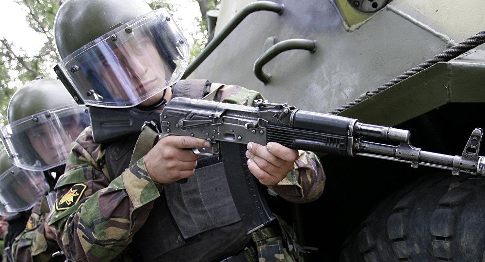 Ejercicios antiterroristas rusos