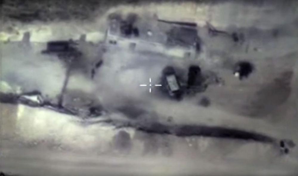 Ataques aéreos rusos contra búnkeres de los terroristas en Siria