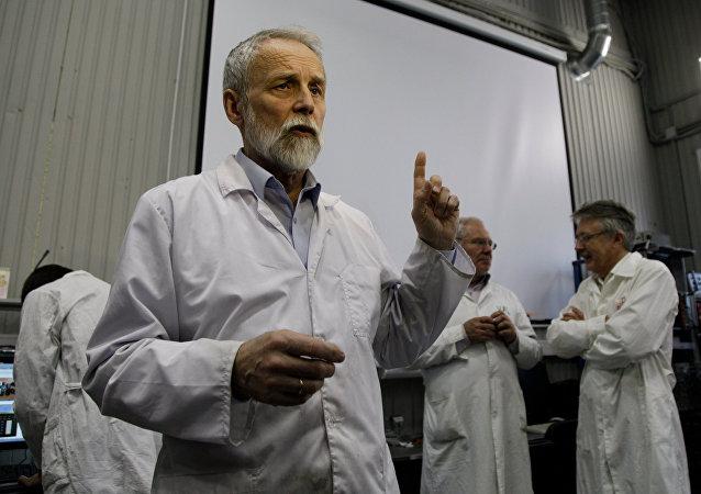 Alexander Bolozdynya, jefe adjunto del Laboratorio de Física Experimental de MIFI