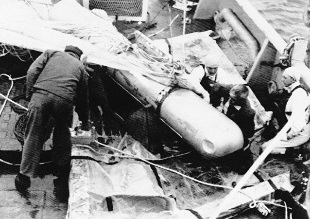 Bobma nuclear envuelta en incidente de Palomares (Archivo)