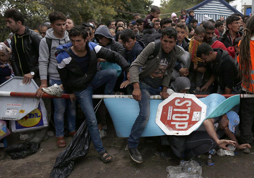 El duro camino de los refugiados