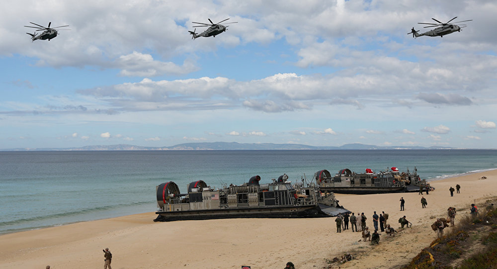 Trident Juncture exercise 2015