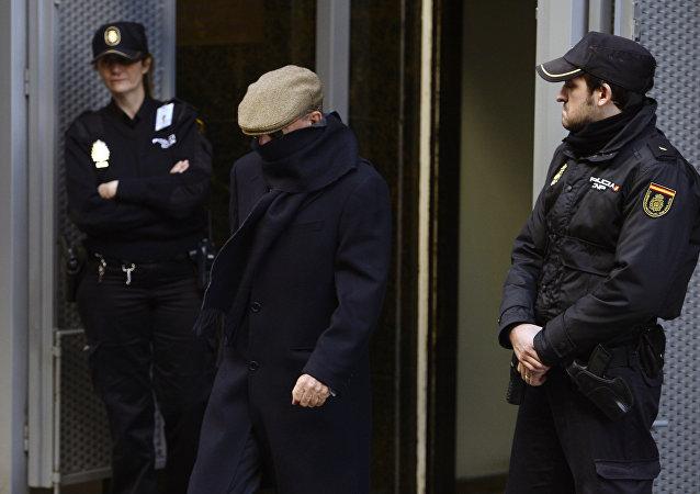 Antonio González Pachec, miembro de la Policía en el franquismo