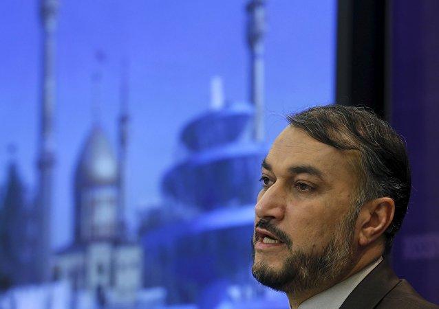 Hossein Amir-Abdollahian, el ministro de Exteriores de Irán