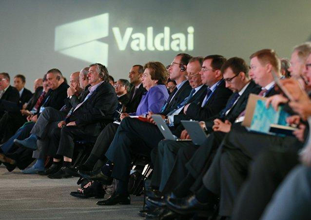XII sesión anual del club Valdái en Sochi (archivo)