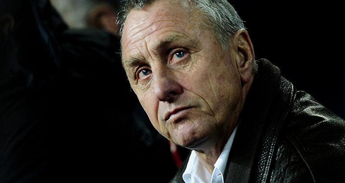 Johan Cruyff, exjugador y extécnico del FC Barcelona