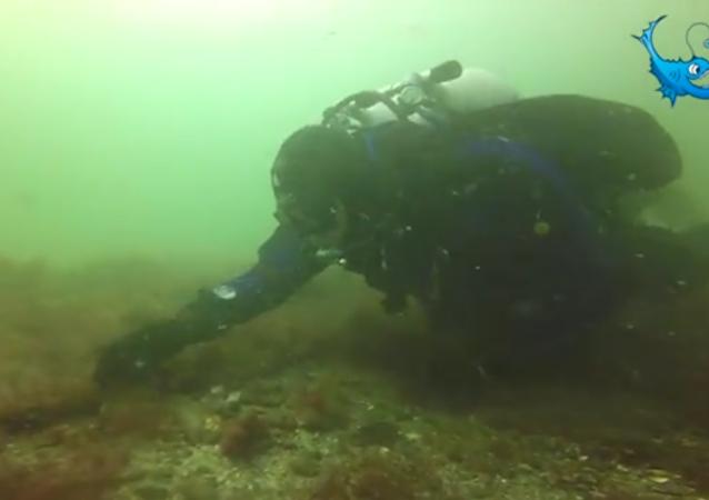 Buceadores encuentran un barco de Pedro el Grande en Suecia