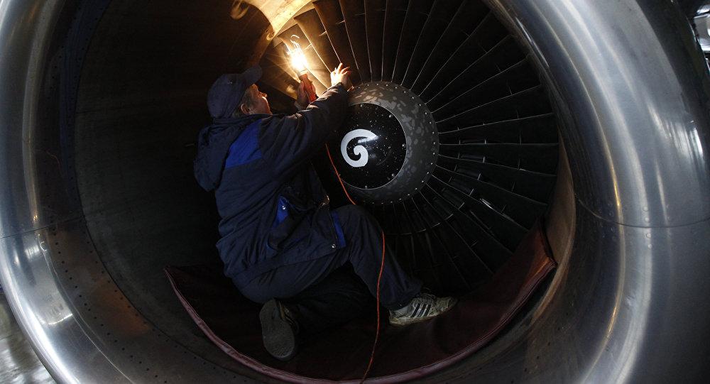 Reparación de un avión