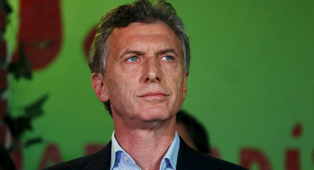Mauricio Macri, presidente electo de Argentina