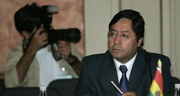 Luis Arce Catacora, ministro de economía de Bolivia
